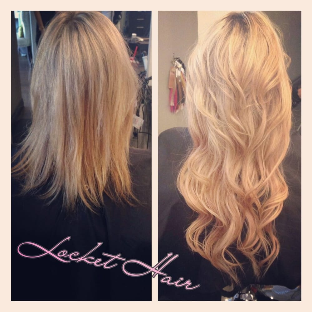 Locket Hair Extensions The Latest Technology Yelp