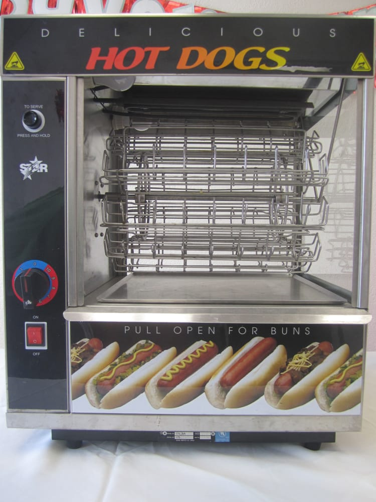 hot dog machine yelp. Black Bedroom Furniture Sets. Home Design Ideas