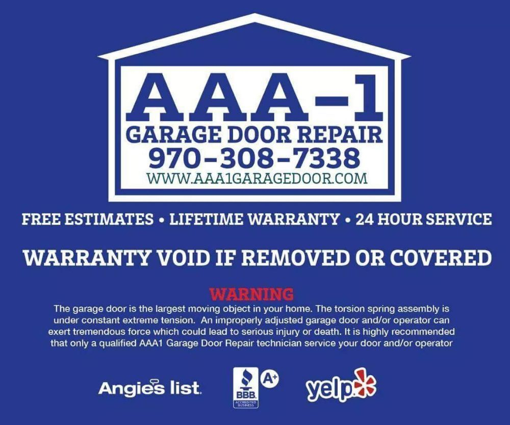 Aaa 1 Garage Door Repair Garage Door Services 215 Strasburg