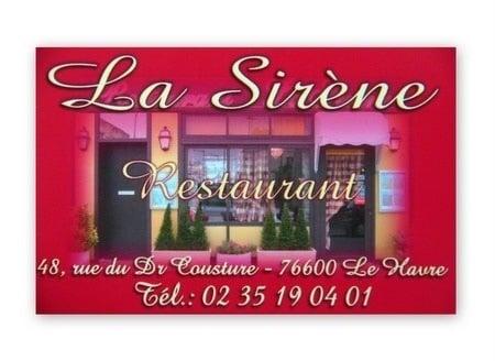 Restaurant Le Havre Saint Vincent