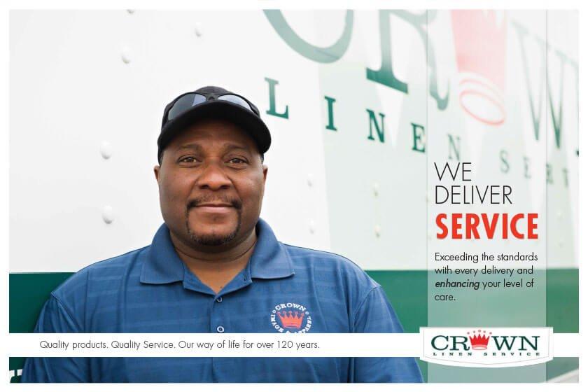 Crown Linen Service: 322 E Industrial Dr, Columbia, IL
