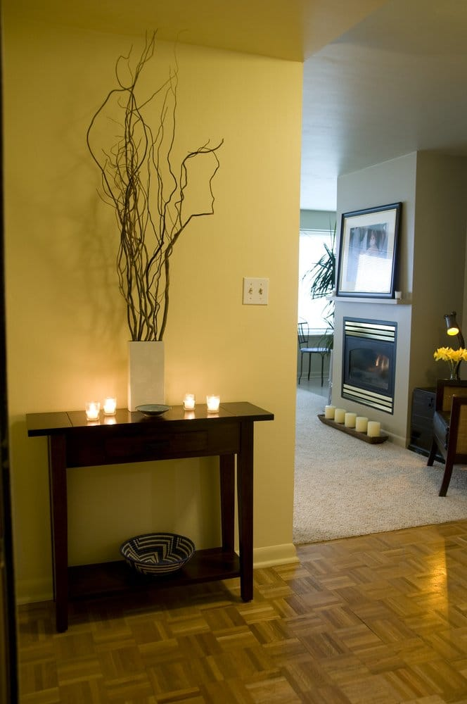 Foyer Apartments Clapham South : Seattle waterfront couples apartment entry foyer yelp