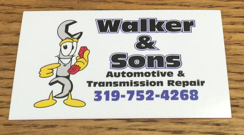 Walker & Sons: 1222 W Mount Pleasant St, West Burlington, IA