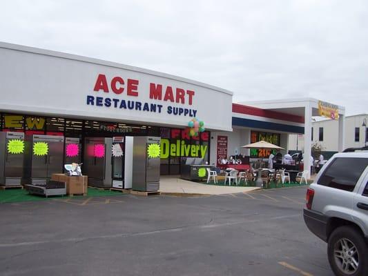 Ace Mart Restaurant Supply Southtown San Antonio Tx