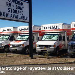 U Haul Moving Storage Of Fayetteville At Colliseum 60 Photos