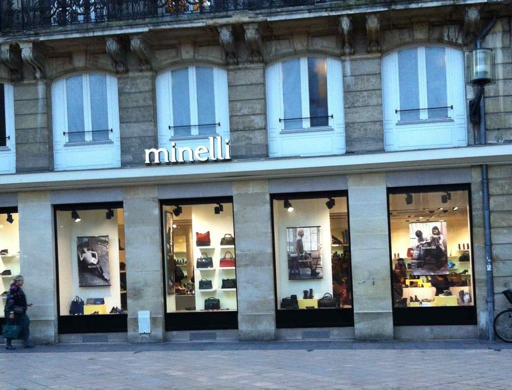 Minelli sa magasins de chaussures 89 rue ste catherine h tel de ville quinconces - Magasins rue sainte catherine ...