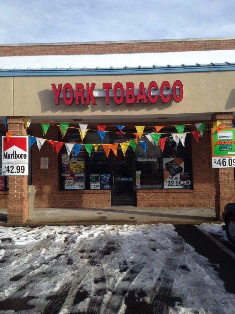 York Tobacco: 2900- Hampton Hwy, Yorktown, VA