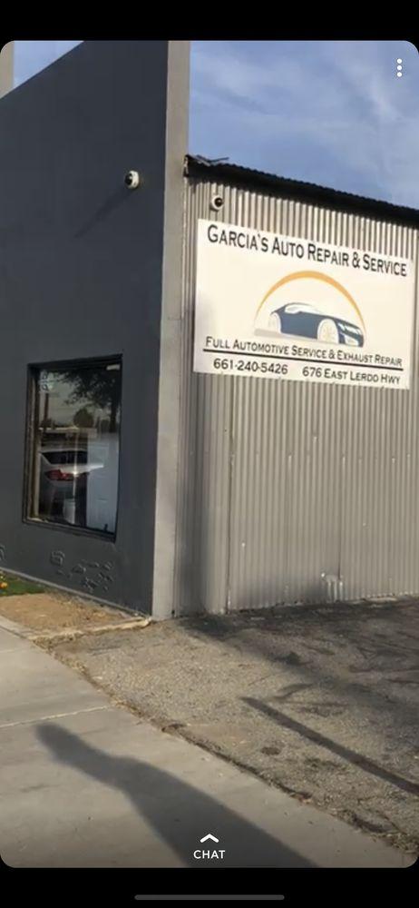 Garcia's Auto Repair & Service: 676 E Lerdo Hwy, Shafter, CA