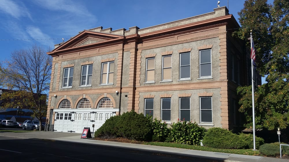 Fire Museum in City Hall: 313 Court Ave, Dalles, OR