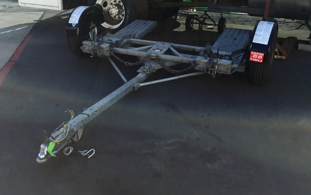 Save time and money go with a tow dolly less wear and tear and no ...