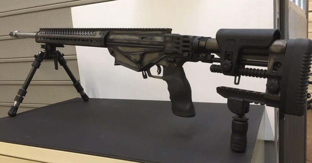 Ruger Precision Rifle In Battleworn Cerakote Yelp
