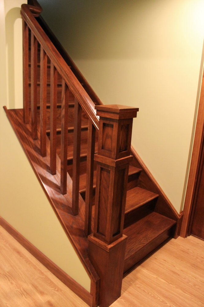 Brand new craftsman style staircase  - Yelp