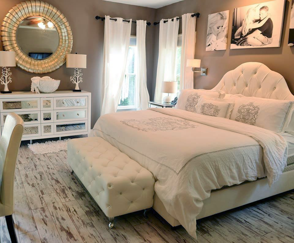 shabby chic customer bedroom using classen fresco yelp. Black Bedroom Furniture Sets. Home Design Ideas