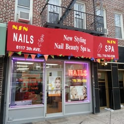 New styling nail beauty spa inc nail salons 8117 3rd for 3rd avenue salon