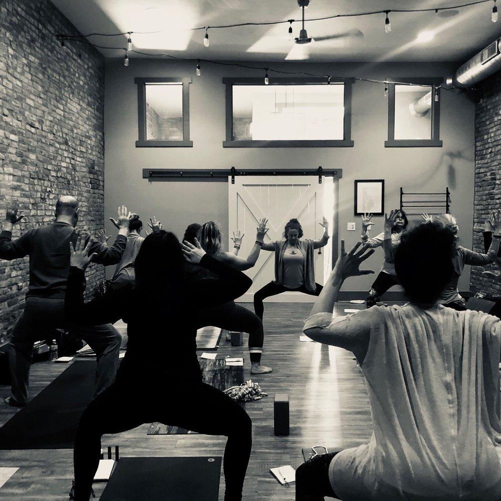 Shine Yoga Wellness: 833 Conner St, Noblesville, IN