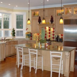 Photo Of Northshore Kitchens Plus   Beverly, MA, United States. Custom  Stained Cabinets
