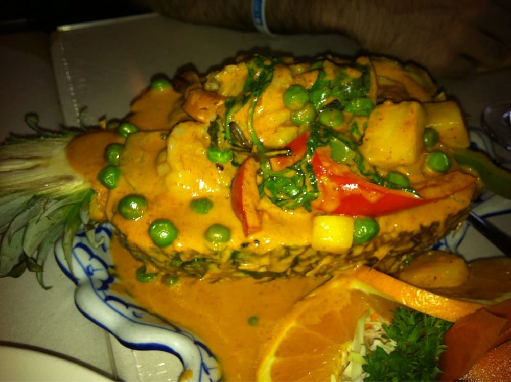 Pineapple curry make sure to spoon out the pineapple with for Amarin thai cuisine
