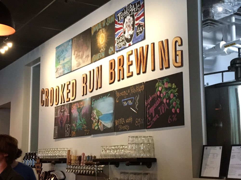 Crooked Run Brewing: 22455 Davis Dr, Sterling, VA