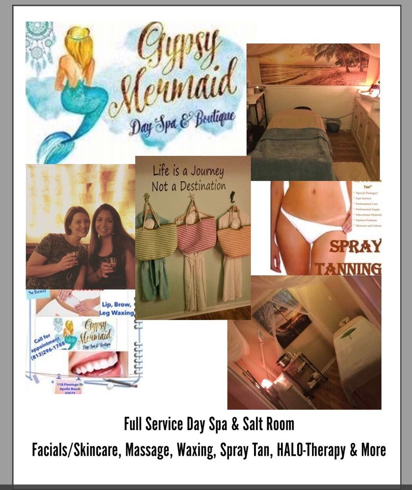Gypsy Mermaid Day Spa & Boutique: 118 Flamingo Dr, Apollo Beach, FL