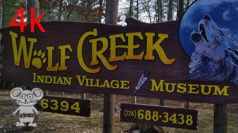 Wolf Creek Indian Village & Museum: 6394 N Scenic Hwy, Bastian, VA
