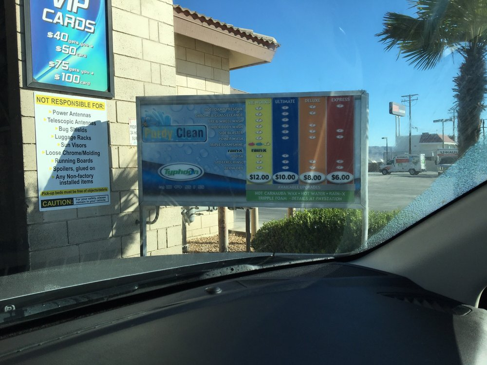 Purdy Clean Car Wash Storage Barstow Ca