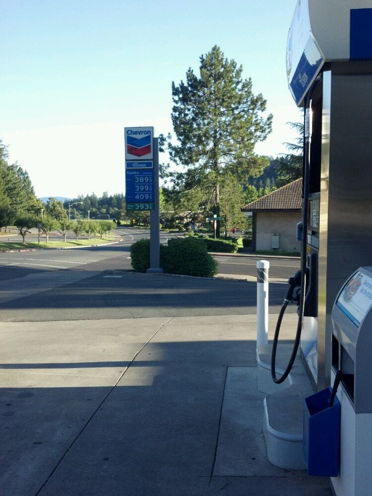 College Chevron Service Station: 111 Howell Mountain Rd, Angwin, CA
