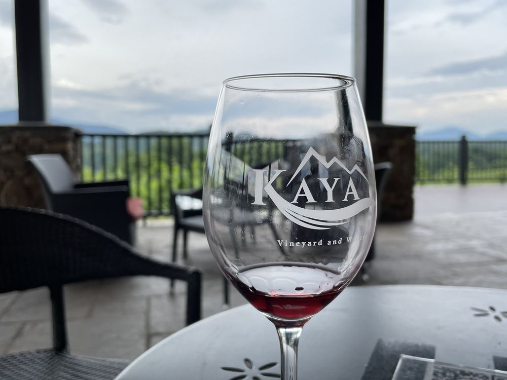 Food from Kaya Vineyards and Winery