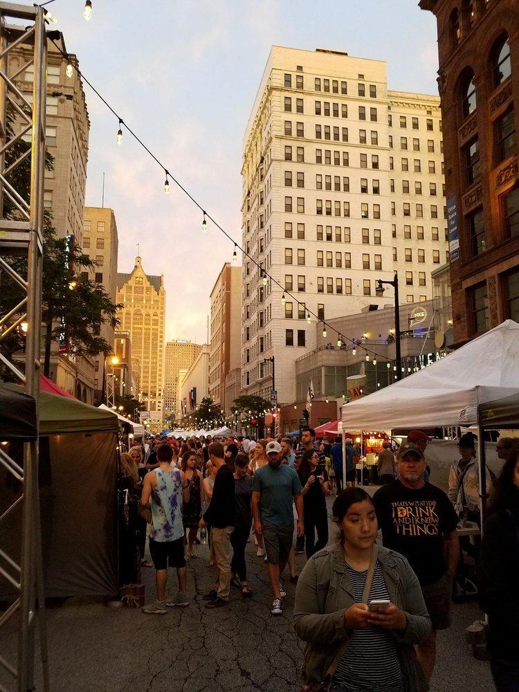 NEWaukee Night Market: 275 W Wisconsin Ave, Milwaukee, WI