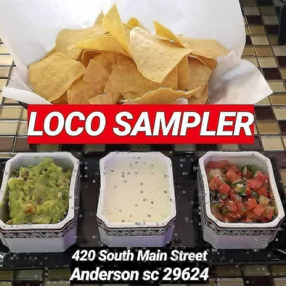 Taco Loco: 420 S Main St, Anderson, SC
