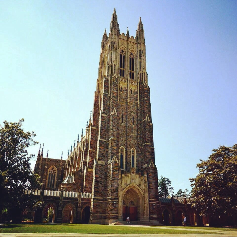 Durham Nc Commons At University Place: The Iconic Duke Chapel.