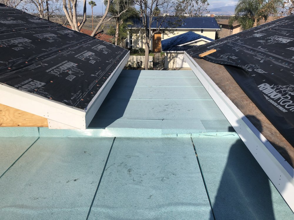 Underlayment Set Shingles Amp Standing Seam On Stand By Yelp