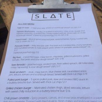 photo of slate cafe west swan western australia australia menu - Slate Cafe Ideas