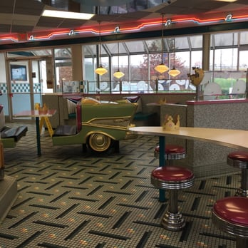Burger king dining room