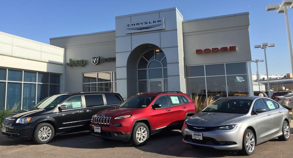 Jensen Lemars Ford Chrysler: 1258 Lincoln St SW, Le Mars, IA