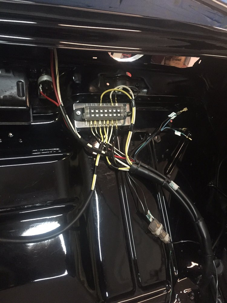 Prime Custom Wiring Harness By Lcc Automotive On A Full Custom Show 1963 Wiring Digital Resources Cettecompassionincorg