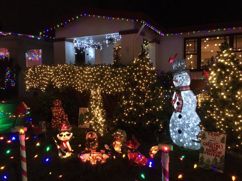 Christmas Tree Lane: 1705 Fulton St, Palo Alto, CA