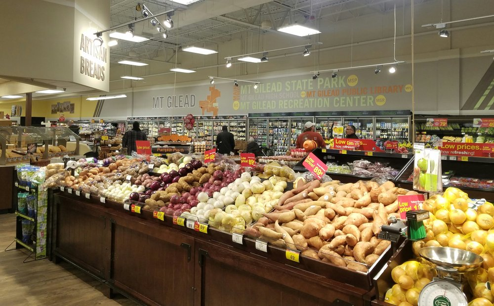 Kroger Food and Pharmacy: 555 W Marion Rd, Mount Gilead, OH