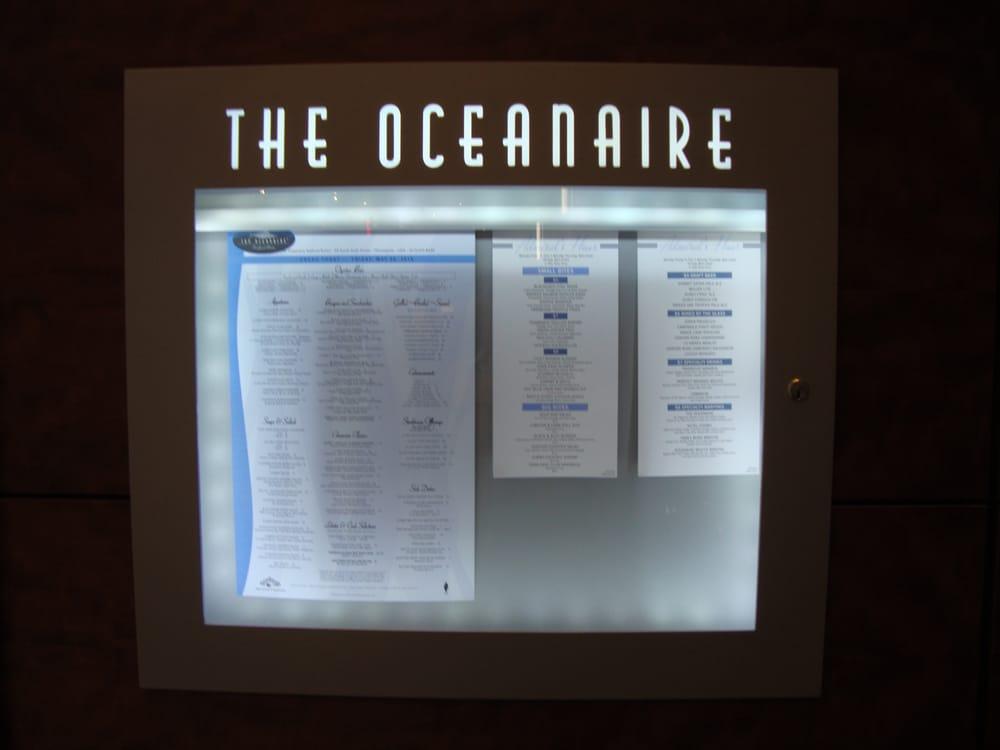 The Oceanaire Seafood Room Menu Minneapolis Mn