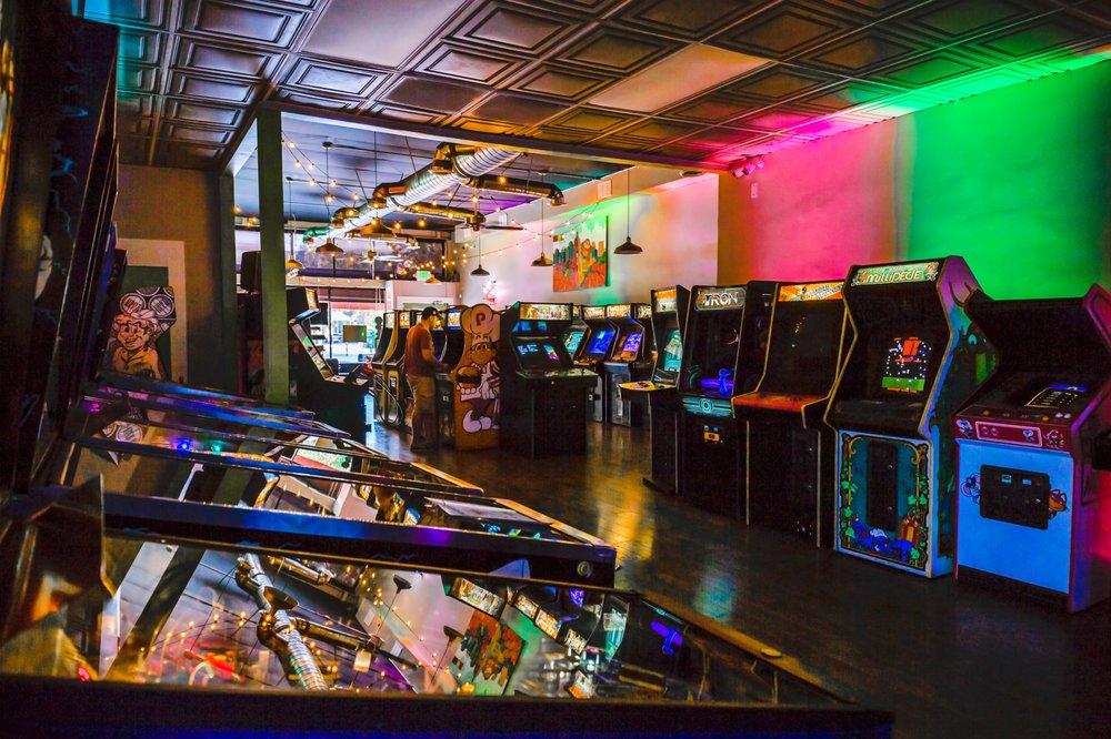 Neon Retro Arcade: 28 S Raymond Ave, Pasadena, CA