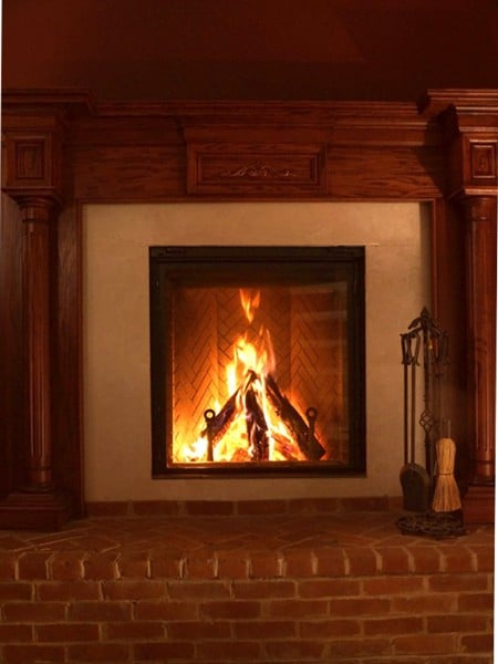 The ICC Renaissance Rumford clean burning EPA qualified fireplace ...