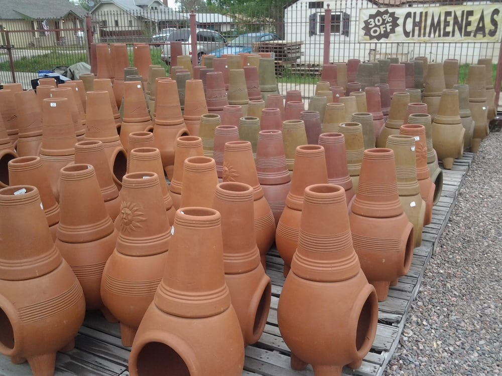 Photo Of Old Santa Fe Pottery   Denver, CO, United States. Chimineas