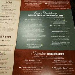 Broken Egg Cafe Menu Greenville Sc