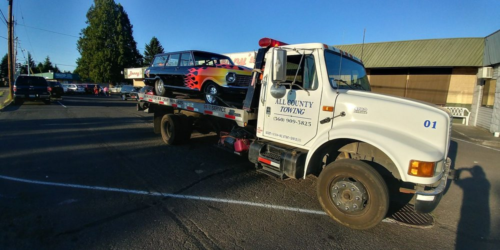 Towing business in Orchards, WA