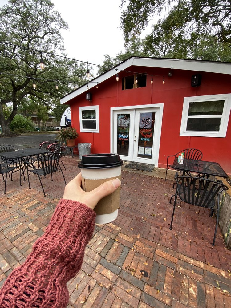 Damn Fine Coffee and Fried Pies: 910 Hall Ave, Seabrook, TX