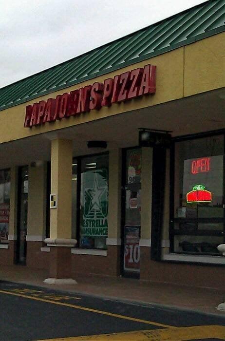 Papa John S Pizza 13 Reviews Pizza 9459 W Flagler St Miami Fl United States