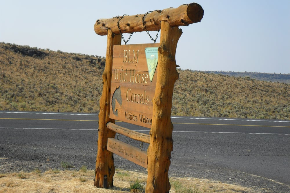 BLM Wild Horse Corrals: 28910 Hwy 20, Hines, OR