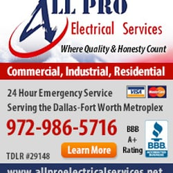 Photo Of All Pro Electrical Services