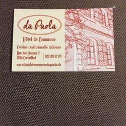 Da Paola Hotel De Commune