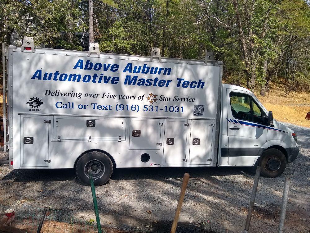 Above Auburn Automotive Master Tech: Auburn, CA