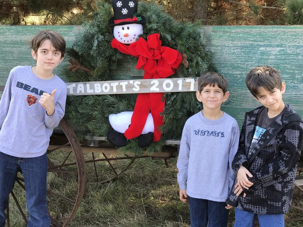 Talbott's Christmas Tree Farm: 14143 Christmas Tree Rd, Green Valley, IL